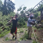Hometown volunteer group 'Xenia Boys' offer help in wake of tornado aftermath