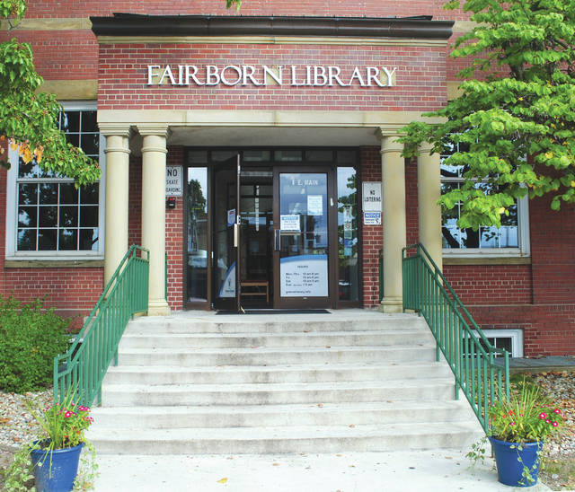 File photo The Fairborn Community Library is located at 1 E. Main St. in Fairborn.