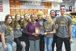 Beavers get busy at spring blood drive