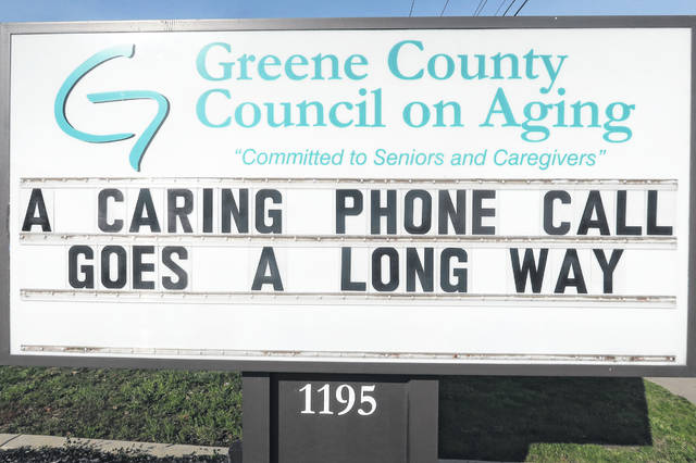 Photo courtesy GCCOA Greene County Council on Aging officials encourage families and individuals to check in with their neighbors by phone or Skype.