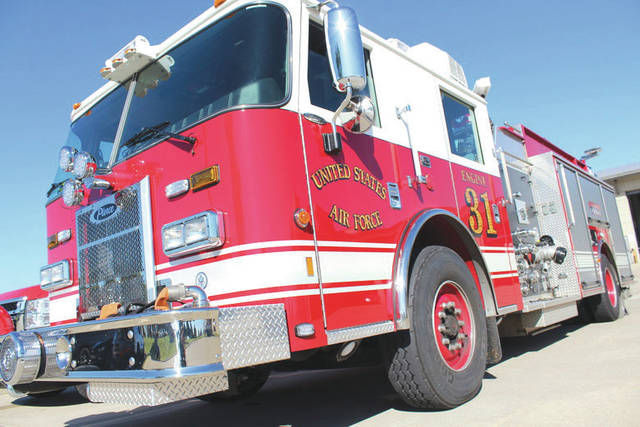 Submitted photo The 788th Civil Engineer Group fire department received approval to replace an antiquated and outdated station currently located in Area A. The new station will have modern design and space to house the fire trucks. Construction is scheduled to begin later this year.