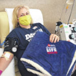 COVID-19 doesn't stop local blood donor