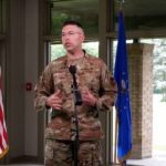 Outgoing base commander credits community