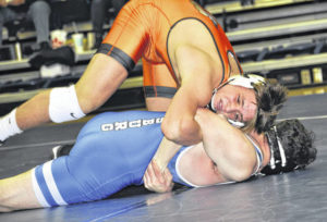 'Creek third at GWOC wrestling