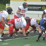 Lightning spoils North-South game