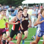 Young guns learn lessons at state track