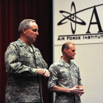 General visits Air Force Institute of Technology