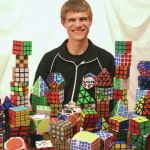 Brads wins three Rubik's titles