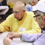 Record number show up for senior euchre
