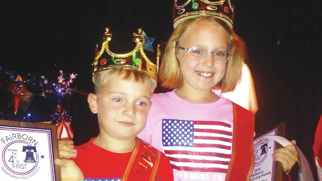 Submitted photos Olivia and Devin Collins, local siblings who were crowned last year's Little Miss and Little Mr. Fairborn. Olivia was 9-years-old at the time, while Devin was 6.