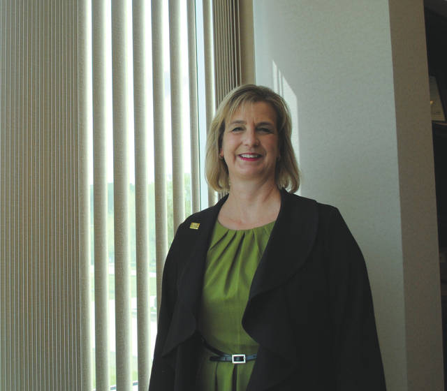 Whitney Vickers | Greene County News Dr. Cheryl Schrader is the president of Wright State University.