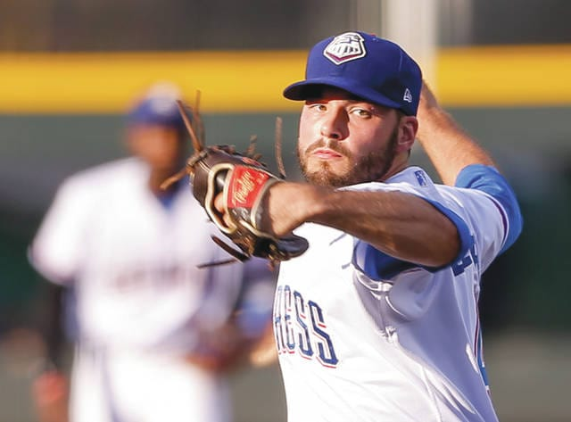 Cedarville University grad David Ledbetter is now one step away from the Major Leagues, pitching for the Texas Rangers' AAA minor league affiliate, the Round Rock Express.