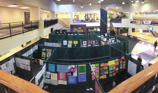 Submitted photo The Tunnel of Oppression is an eye-opening experience designed to help first-year students at Wright State University appreciate diversity and fight discrimination.