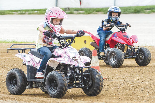 With 26 racing classes offered for All-Terrain Vehicles (ATVs), and 13 other classes for trucks and full-size vehicles, everything from a snowmobile, to dirtbikes, diesel trucks to a highly modified dune buggy could be found racing at the KOI Dirt Drag Racing Series event, Saturday Aug. 5 at the Greene County Fair in Xenia.