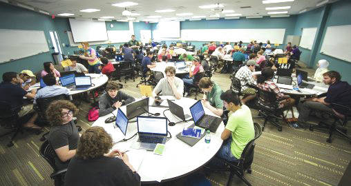 Submitted photo Wright State will launch a pilot project to negotiate lower prices for textbooks and online access content on behalf of its students.
