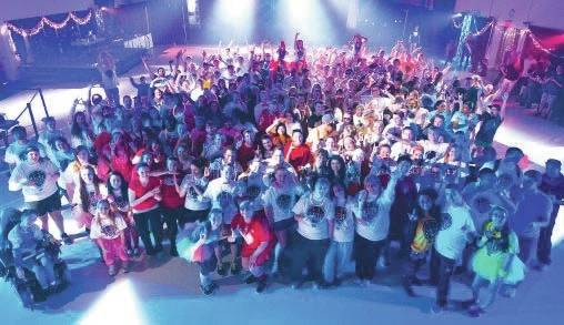 Submitted photo The fifth annual Raiderthon, a 15-hour dance marathon, takes place from 10 a.m. Nov. 18 to 1 a.m. Nov. 19 in the Student Union Apollo Room.
