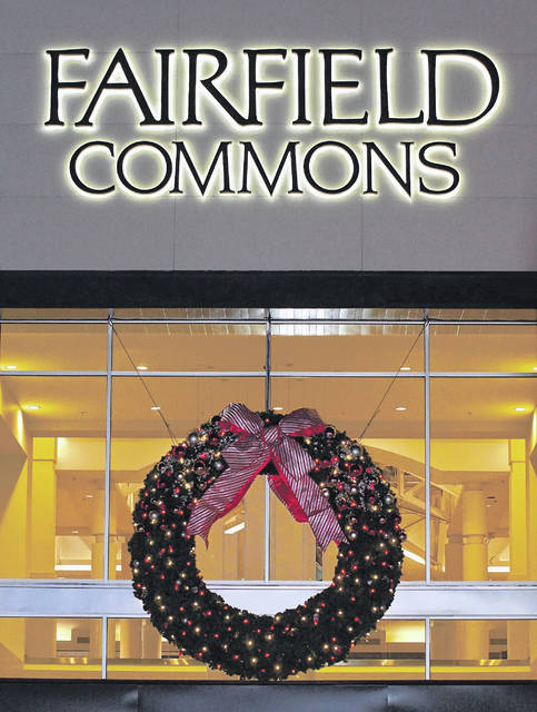 Barb Slone   Xenia Gazette Soin Medical Center helped present the Mall at Fairfield Commons Wreath Lighting ceremony on Nov. 10.