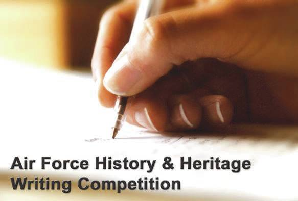 Submitted graphic The National Museum of the U.S. Air Force holds an annual Air Force Heritage and History Writing Competition, providing students the opportunity to develop positive academic and character qualities and to showcase their writing talents while vying for scholarship funds.