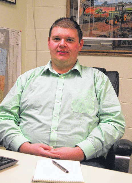 Submitted photo Trevor Corboy the newly hired Ohio State Uniersity Extension Office Agricultural Educator for Greene County.