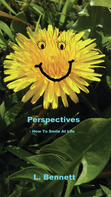 Submitted photos Local author Lisa Bennett's new book, <em>Perspectives, How to Smile at Life</em>, can be purchased online. Bennett is donating all of the profits to Family Violence Prevention Center in Xenia.