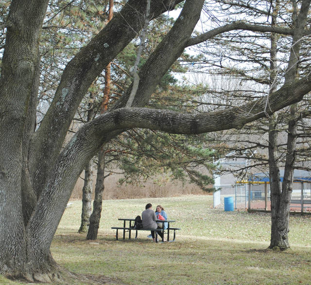Whitney Vickers   Greene County News Temperatures climbed into the lower 70s Feb. 20, drawing Fairborn citizens outside to enjoy the first sign of spring.