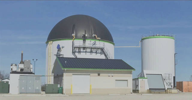 Linda Collins | Greene County News The biosolids digester facility.