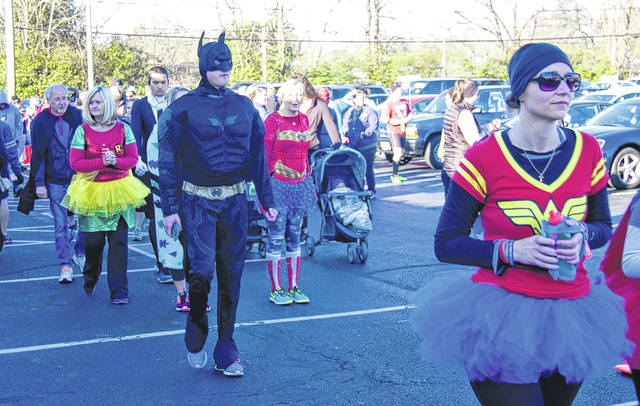 Submitted photo In recognition of National Child Abuse Prevention Month, Family Violence Prevention Center and Michael's House host the Superhero Child Abuse Prevention and Elimination (C.A.P.E.) 5K Run/Walk every year. Community members are encouraged to register and dress up.