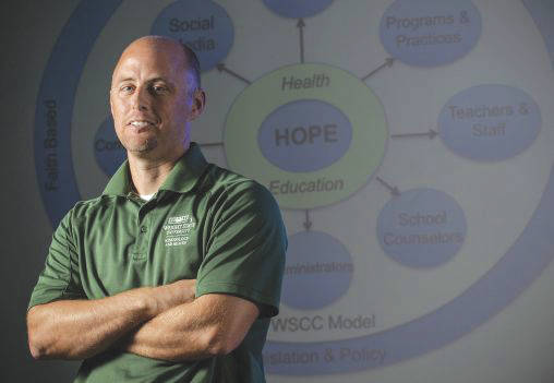 Submitted photo Kevin Lorson, director of Wright State University's Physical Education Licensure Program, created the Health and Opioid Prevention Education (HOPE) curriculum.