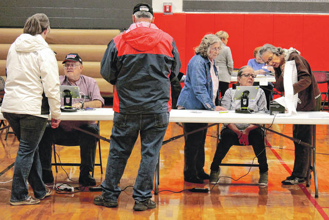 File photo Today is Election Day. Polls are open 6:30 a.m. to 7:30 p.m.