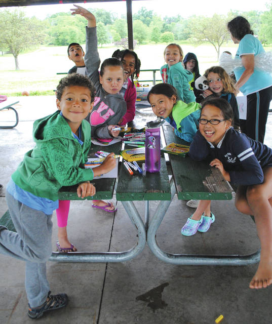 "File photo Children participating in last year's ""Water World"" camp."