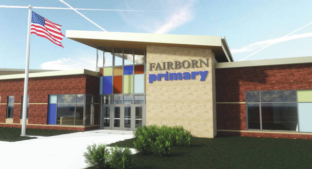 Submitted graphic A design of the new Fairborn Primary School building.