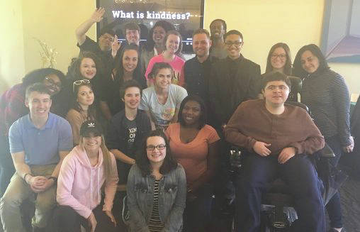 Submitted photo Students in the Advanced News Writing class explored how kind people are to each other day in and day out through a class project called Timeless Kindness.