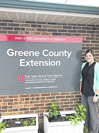 Submitted photo Juliana Erwin is joining three Greene County Ohio State University Extension office staff this summer.