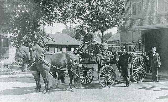 File photo Xenia Fire Department No. 1 in 1910.