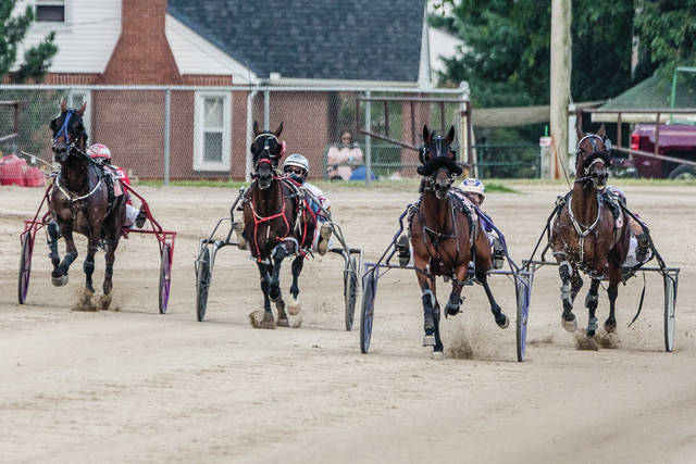 File photo Harness Racing will take place 6:30 p.m. Wednesday, Aug. 1 and 6:30 p.m. Thursday, Aug. 2 at the Greene County Fairgrounds.