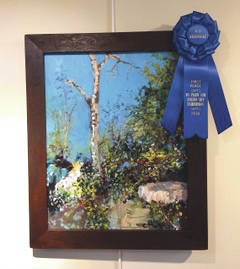 "Submitted photo Carol McNeeley placed first with ""Dead Tree and Boulder."""