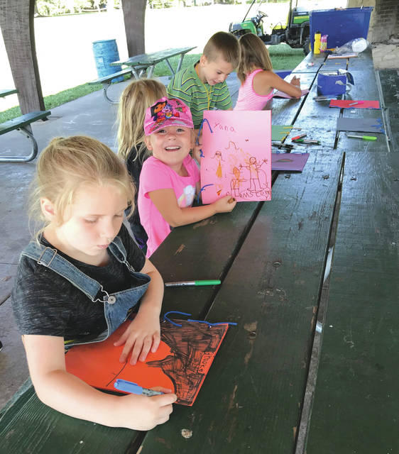 Submitted photos The City of Fairborn is hosting a number of youth summer camps throughout the season. Children were invited to participate in Nature Explorers camp July 17.