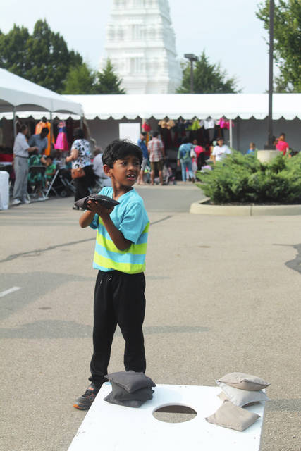 Festival-goers of all ages enjoyed food, shopping, games, dancing, Bollywood music and more at the fifth annual festival in Beavercreek.