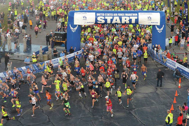 File photo The 2018 Air Force Marathon and all its surrounding events are slated for Sept. 13-15.