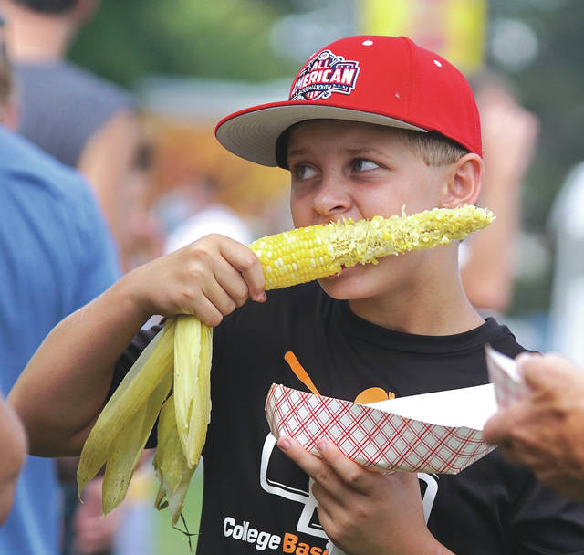 Barb Slone | Greene County News Fairborn celebrated its annual Sweet Corn Festival Aug. 18-19 in Community Park. Citizens were invited to come enjoy an ear of sweet corn and all its fixins,' as well as a number of food and craft vendors, children activities and more.