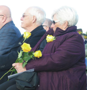 Gold Star Monument dedicated