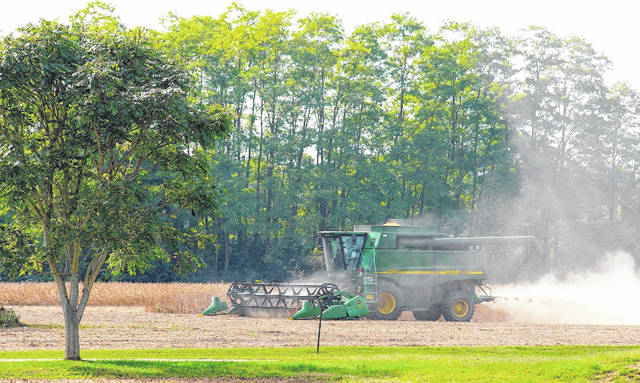 Barb Slone | Greene County News A farmer's work is never done in Greene County, as they harvest the crops from the summer and prepare the fields for next year's crops.