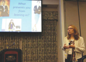 Conference highlights 'leaning in'