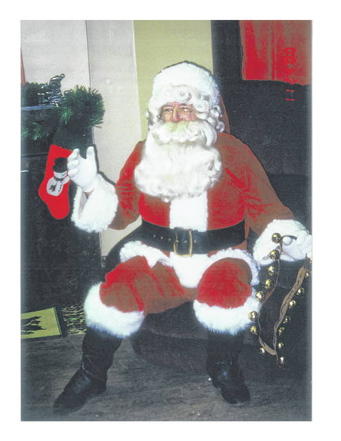 "Chuck Routzohn started playing ""Santa"" at Holiday in the Park in 1996."