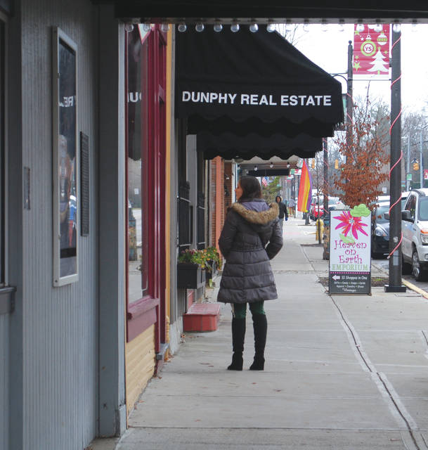 Whitney Vickers | Greene County News Small businesses throughout the Village of Yellow Springs will be participating in Small Business Saturday slated for Saturday, Nov. 24.