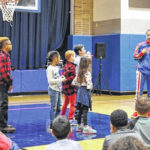 Globetrotter talks about bullying prevention