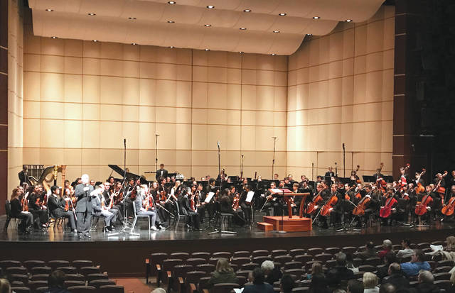 Submitted photos Mary Jo Johnson, a junior at Fairborn High School, serves the 2018-201919 season as co-concert master to the Dayton Philharmonic Youth Orchestra (DPYO).
