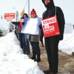 Some WSU faculty, students on strike