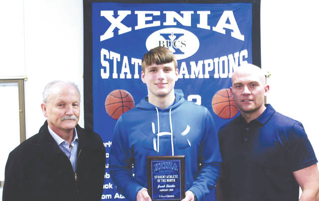 Jacob Stickle was chosen as the Edward Jones Investments Athlete of the Month for January for Xenia High School. This award is being sponsored by the office of Mike Reed at Edward Jones Investments of Xenia, serving Xenia, Jamestown, Cedarville and surrounding areas. Stickle is a senior wrestler. He is characterized by his positivity. Whether in the classroom or on the wrestling mats, Stickle is sure to meet every challenge with a smile and he shares his positive attitude with the rest of the team. As a leader, Stickle participates in many extracurricular activities and is the epitome of the student athlete, excelling in the classroom with a grade-point average of 4.67.