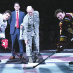 WPAFB participates in hockey game